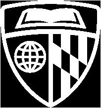 JHU Emblem White